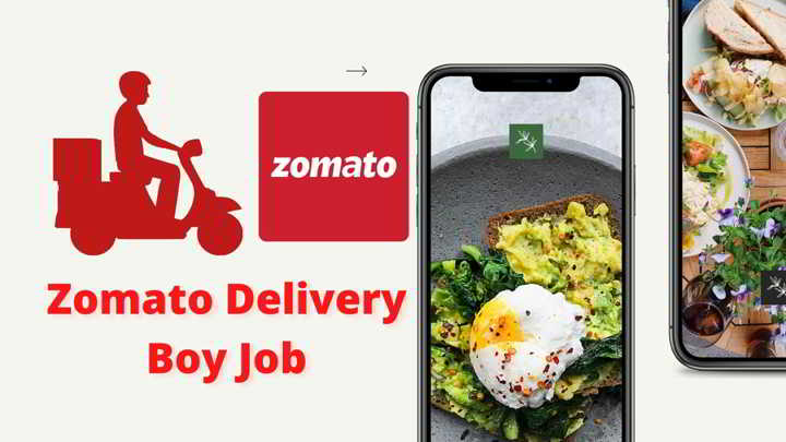 Zomato Delivery Boy Job Apply Online